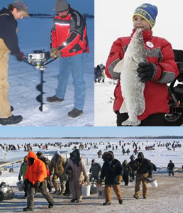 Devils Lake Volunteer Fire Department Ice Fishing Tournament
